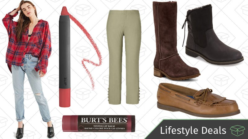 Illustration for article titled Monday's Best Lifestyle Deals: Burt's Bees, Sperry, GAP, Bite Beauty, and More