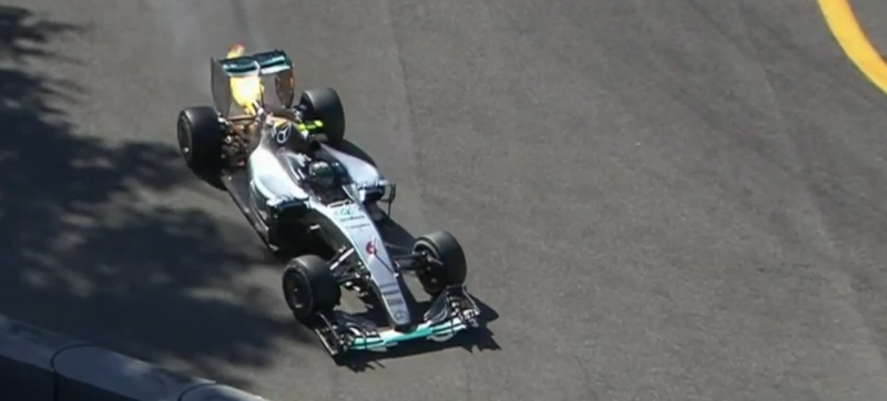 Illustration for article titled Trouble At Mercedes? Sorry, Nico Rosberg, Your Car Is Not A Rocketship