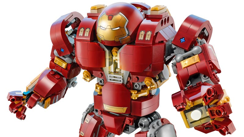 Toys For 7 And Up Mane Provided : Iron man s hulkbuster suit is getting the giant lego set