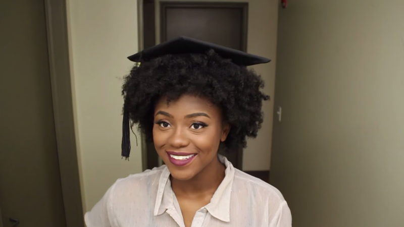 How To Make A Graduation Cap Fit On Kinky Or Curly Hair