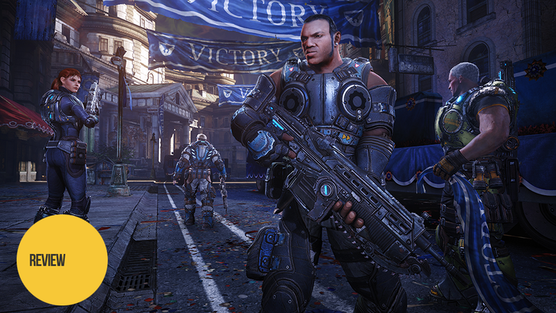 Illustration for article titled Gears of War: Judgment: The Kotaku Review
