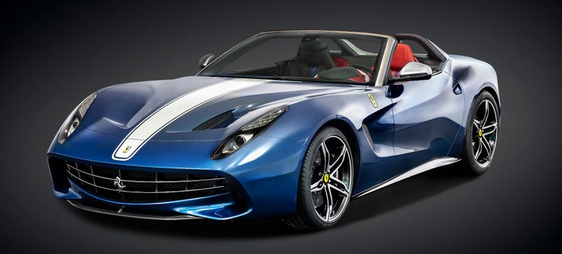 Illustration for article titled Ferrari F60 America: A 730 HP, $2.5 Million Roofless Salute To Freedom
