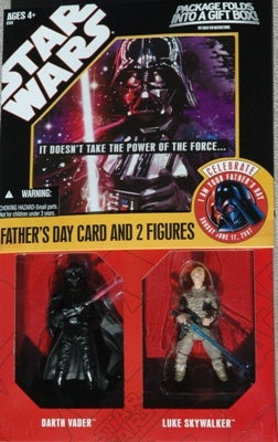 Illustration for article titled Star Wars Gift Card With Luke and Darth Makes You Search Your Feelings