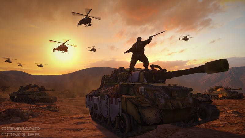 Illustration for article titled EA Cancels Command & Conquer