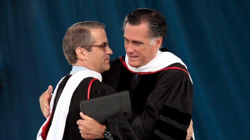 Illustration for article titled Who Gives a Shit if Mitt Romney is Nice to People He Already Likes?