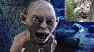 Illustration for article titled Chinese Monster Hoax Wasn't Really Gollum, But a Video Game Ad