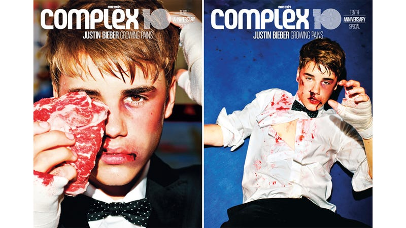 Illustration for article titled Here Are Those Bloody Justin Bieber Photos You Never Wanted