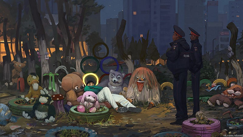 Illustration for article titled But Officers, These Are My Friends