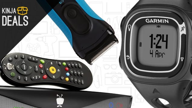 Saturday's Best Deals: TiVo DVRs, Garmin GPS Watch, $40 Electric Shaver, and More