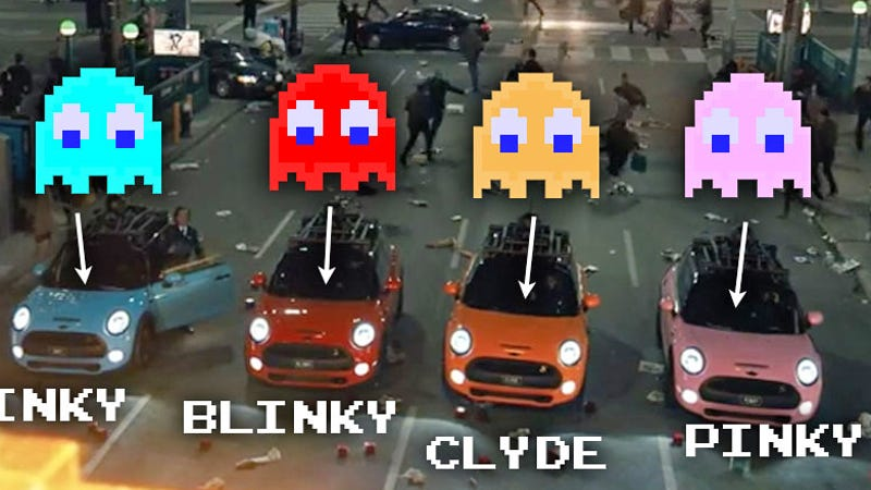 Old Mini Coopers >> Mini Coopers Will Be Playing The Role Of Pac-Man Ghosts In Pixels