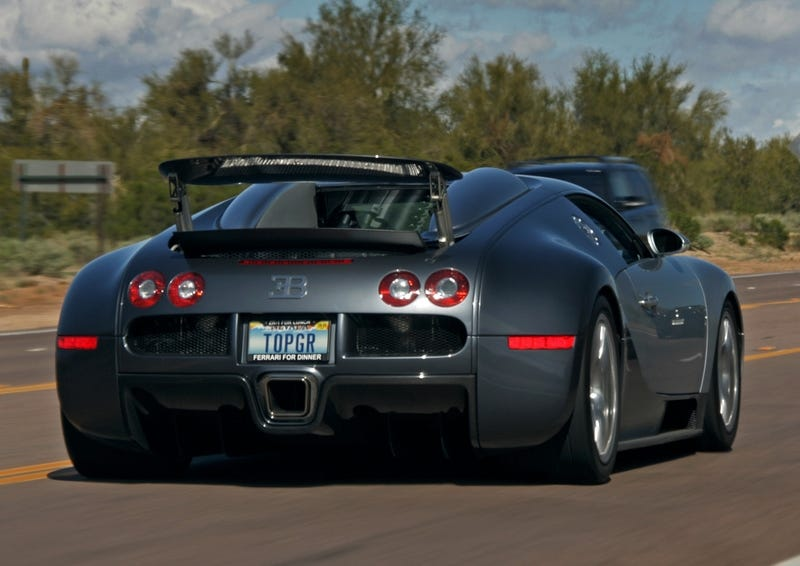 bugatti owner vanity plate only bested by frame