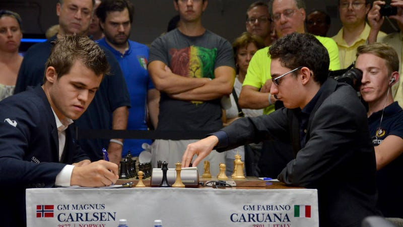 """Illustration for article titled This 22-Year-Old Just Rocked the Chess World with """"Historic"""" Win"""