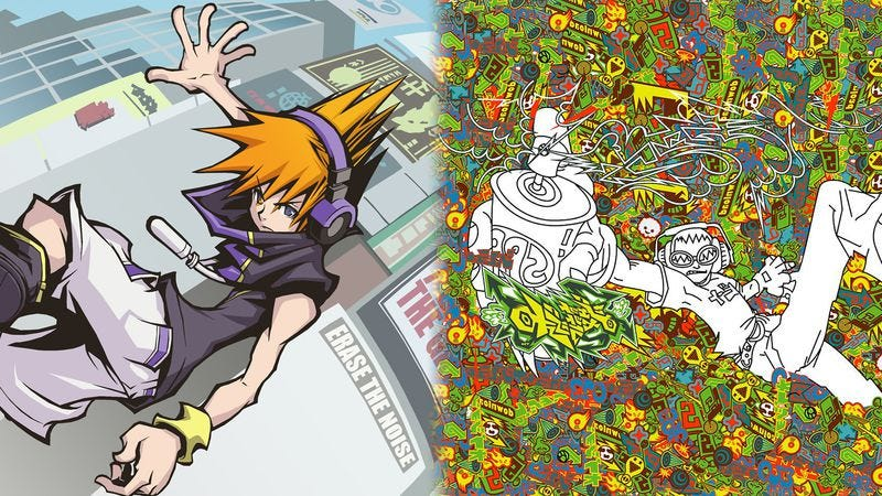 Illustration for article titled Two ultra-hip Japanese games of the 2000s showcased youth culture's uplifting power