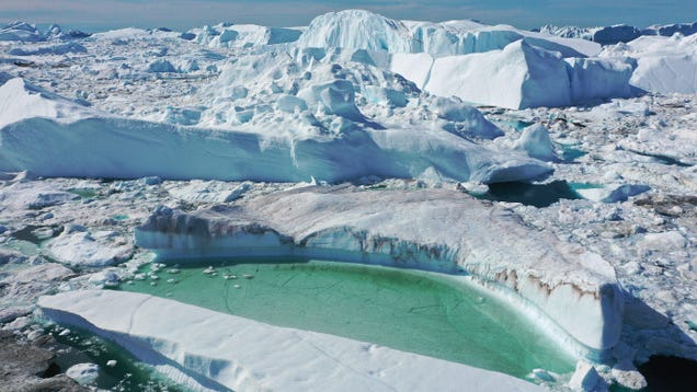 Geoengineering Wouldn t Be Enough to Stop Greenland From Melting