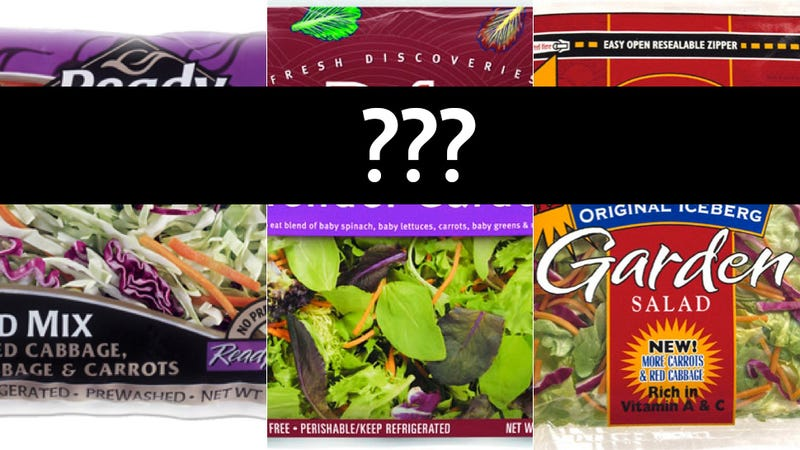 Illustration for article titled Health Dept. Won't Reveal Which Salad Mix Brand Is Making People Barf