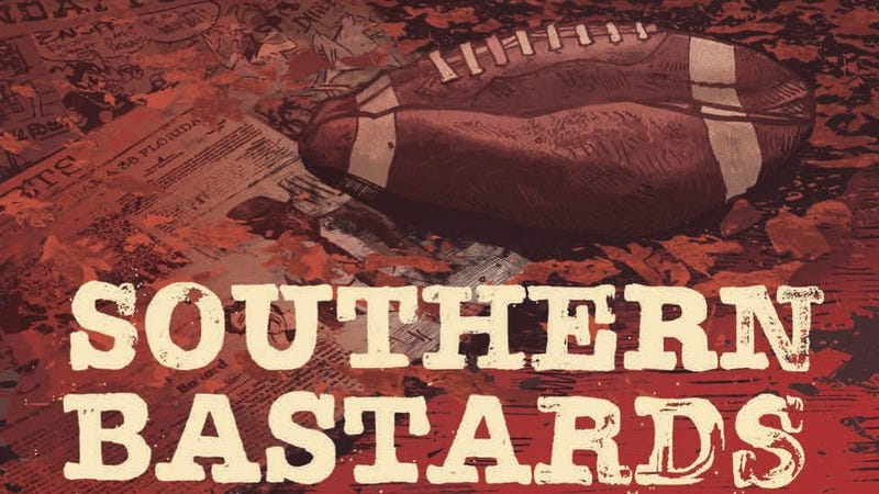 Illustration for article titled Southern Bastards #8 mines devastating drama from fathers and football