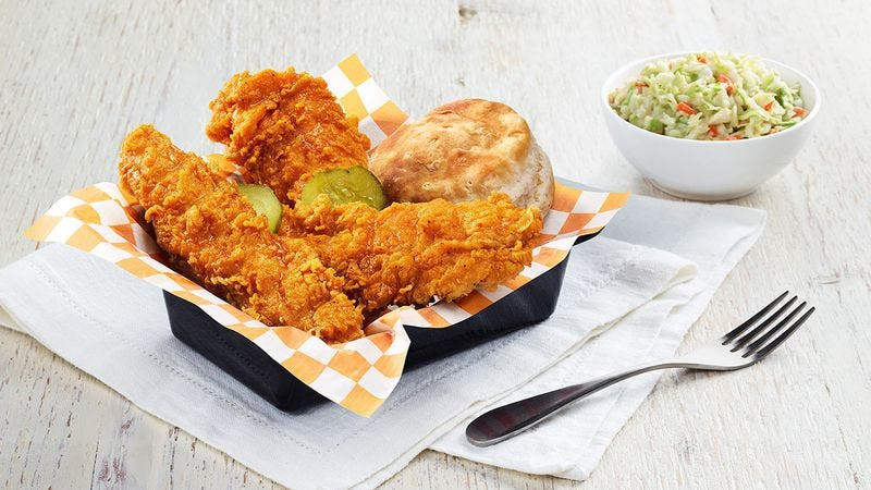 KFC's Georgia Gold fried chicken is one of the better fast-food