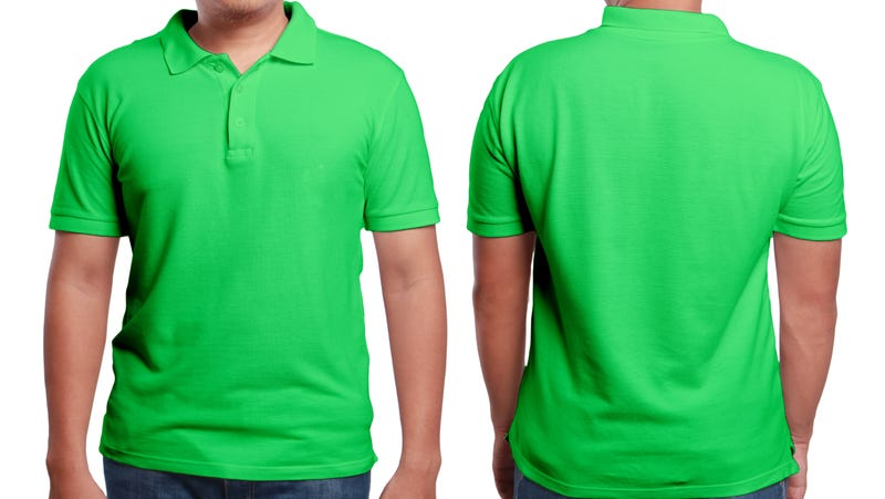Not the actual green shirt, but close enough.