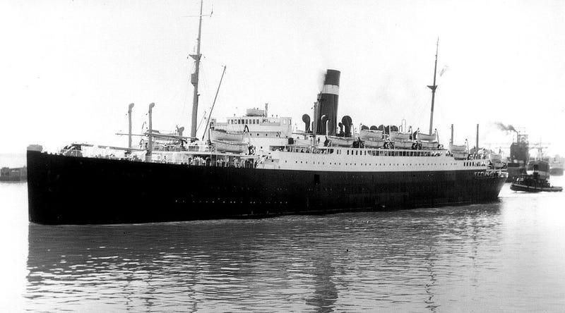 SS Athenia. Wikimedia Commons