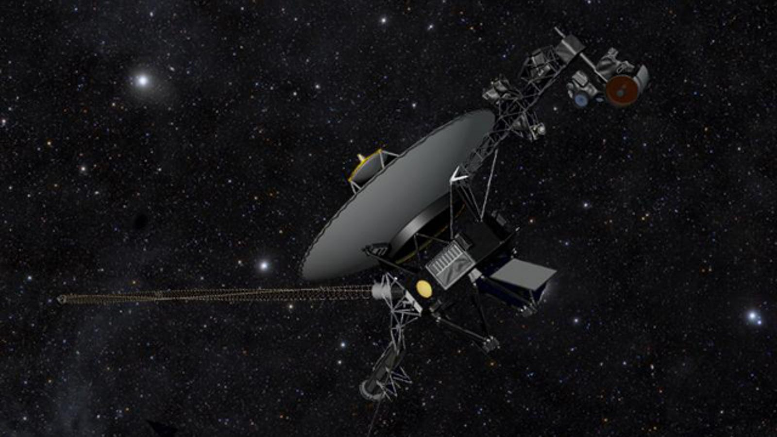 So apparently Voyager 1 left our solar system on July 27, 2012