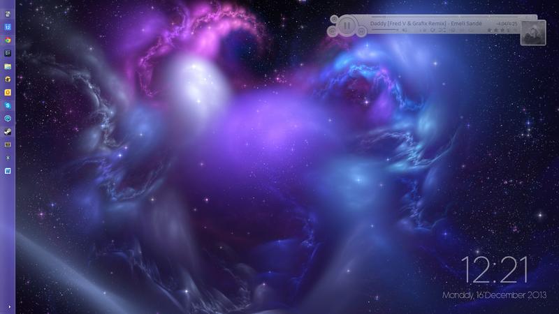 The Dancing Space Desktop