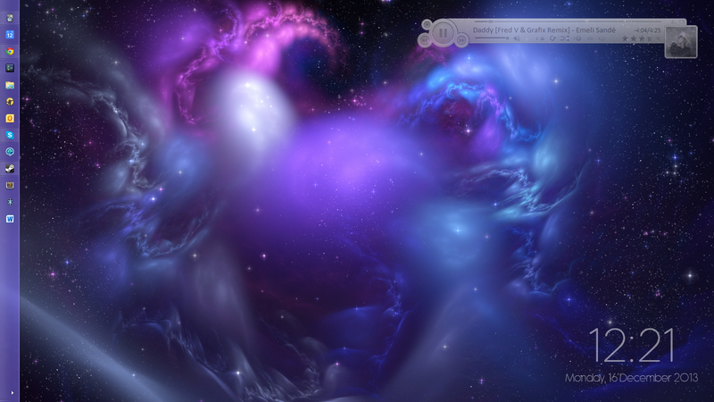 Illustration for article titled The Dancing Space Desktop