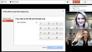 Illustration for article titled Google+ Hangouts Now Feature Free Voice Calls