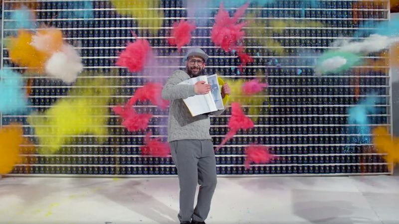 "Screenshot: ""The One Moment""/OK Go"