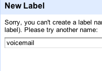"""Illustration for article titled Gmail Reserves """"Voicemail"""" Label, Google Voice Coming to Your Inbox"""