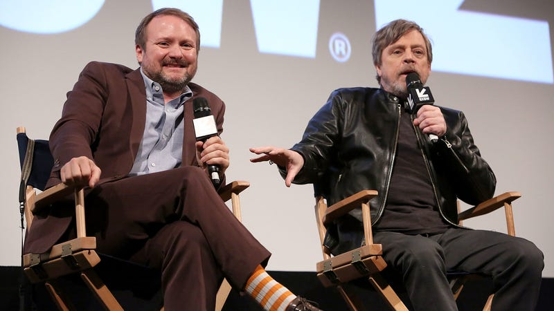 Rian Johnson and Mark Hamill at SXSW