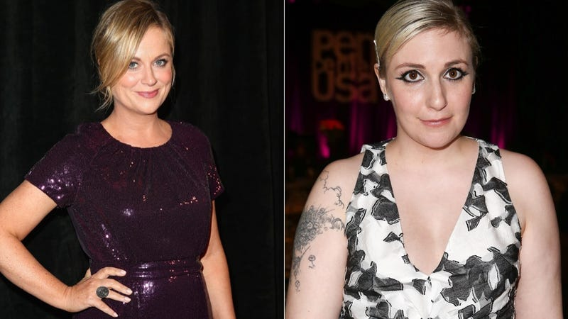 Illustration for article titled Lena Dunham and Amy Poehler Are Almost Tied in Book Sales