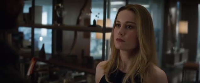 In the New Avengers: Endgame Trailer, Captain Marvel Is Here to Even the Odds