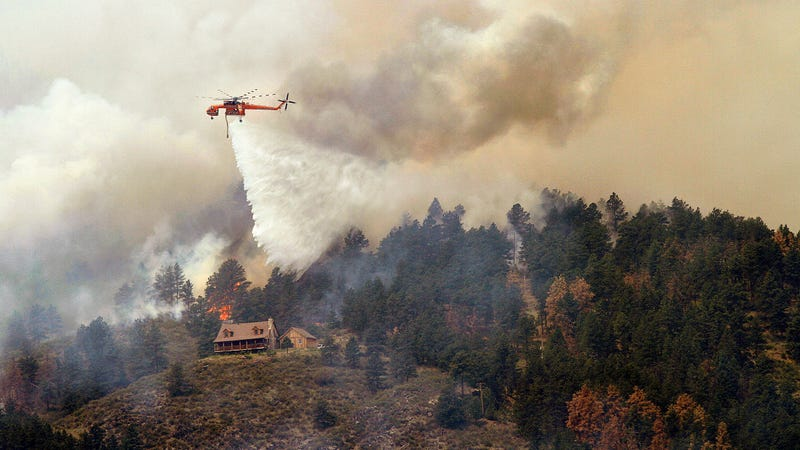 The High Park Fire in Colorado in 2012.