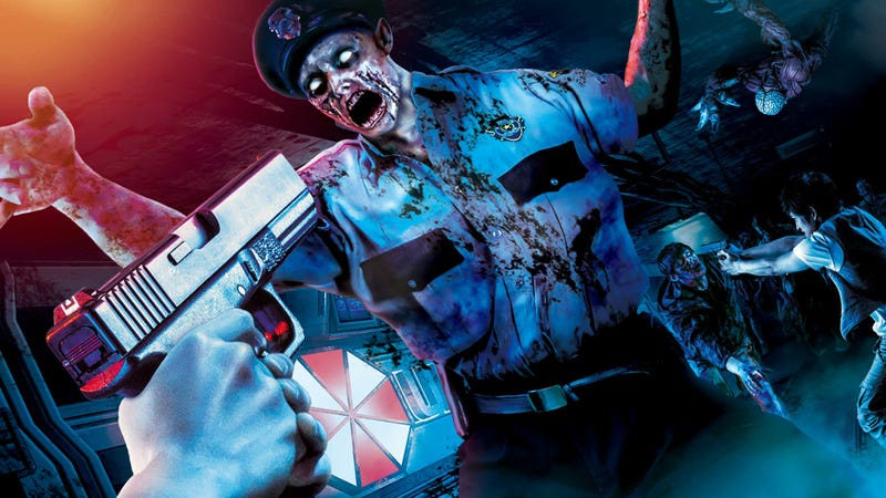 Illustration for article titled Shoot Resident Evil Zombies This Summer at Universal Studios Japan