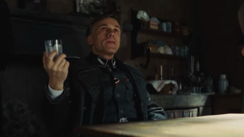 Screenshot: Inglourious Basterds – The Elements Of Suspense