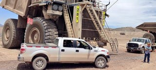 Illustration for article titled 2015 Ford F-150 Prototypes Have Been Working At A Gold Mine Since 2011