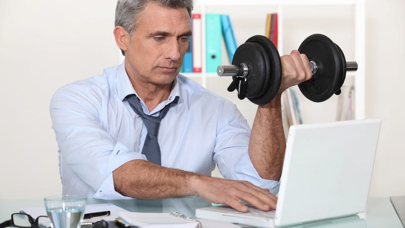 Even If You Spend All Day Behind Your Desk Can Still Get A Workout In We Tell How