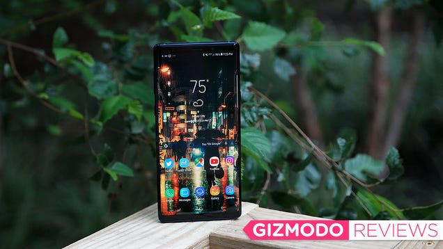 Samsung's Galaxy Note 9 Is the Best Big Phone