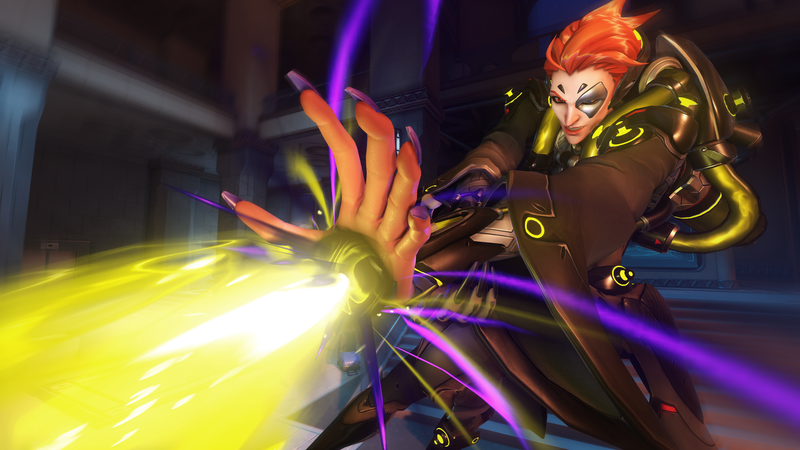 Illustration for article titled Overwatch Gets A New Hero: Moira, A Support Healer