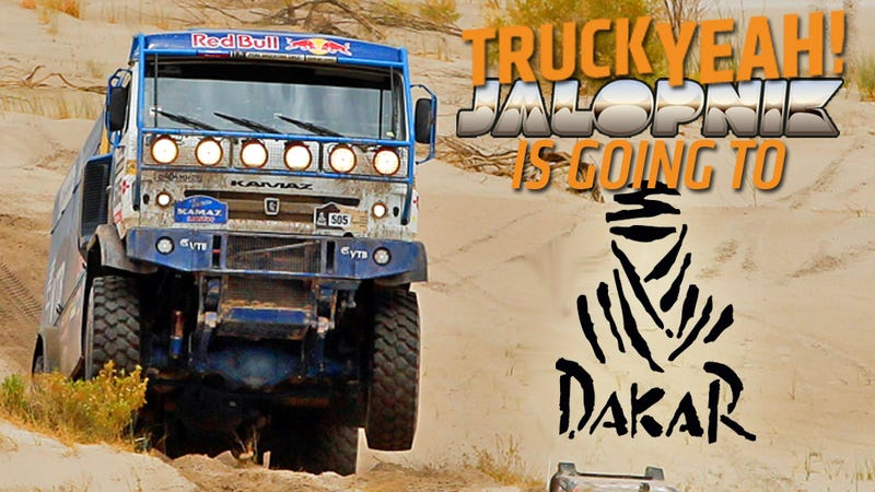 Illustration for article titled Holy Crap I'm Going To The Dakar Rally Tomorrow! AMA