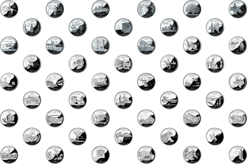 Illustration for article titled A Musing: State Quarters
