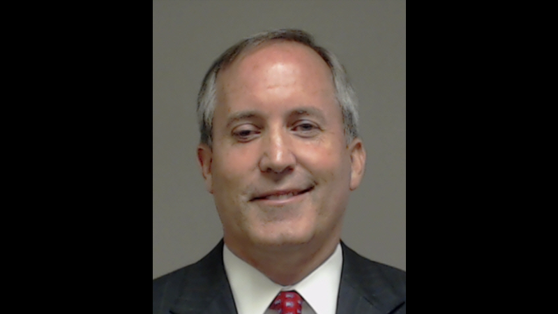 Illustration for article titled Texas Attorney General Ken Paxton Takes a Hell of a Mugshot