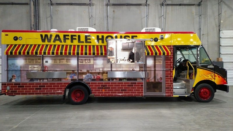 Illustration for article titled Waffle House Food Truck?
