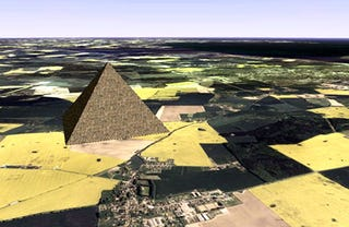 Illustration for article titled Germans Plan Colossal New Great Pyramid