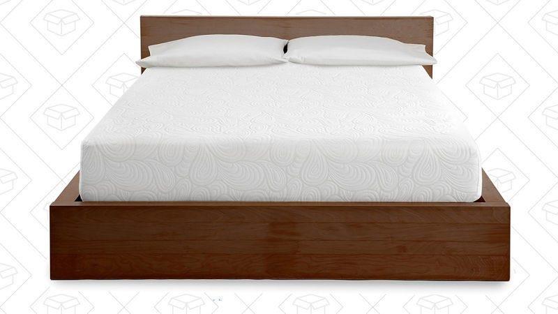 Colchón de espuma PuraSleep 10'' mejorado con inyección de gel, $275-$500