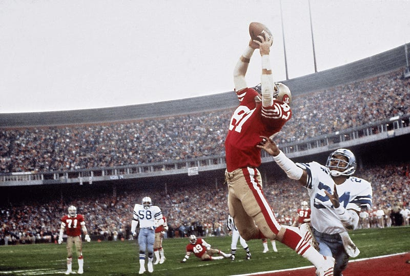 Illustration for article titled Dwight Clark Dies After Battle With ALS