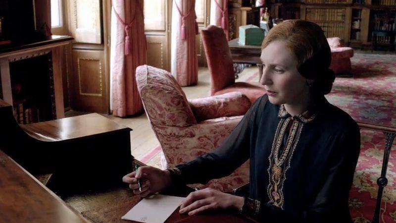 Laura Carmichael as Lady Edith Crawley (PBS)
