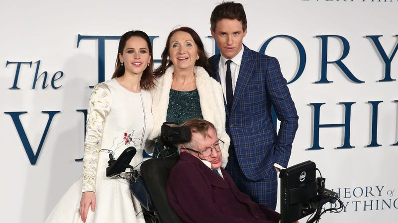 Jane Hawking (center)