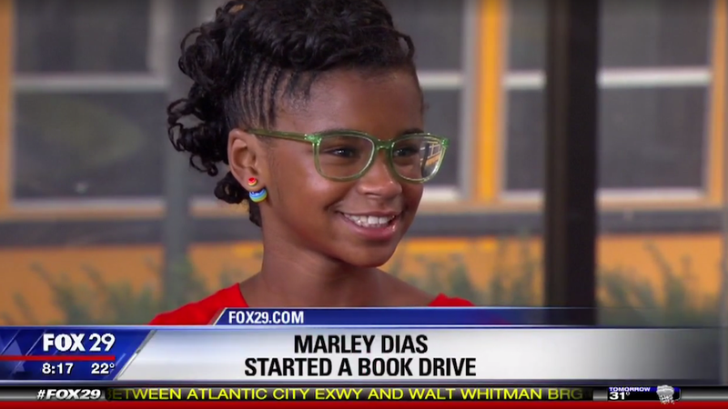 Illustration for article titled 11-Year-Old 'Sick of Reading About White Boys and Dogs' Launches#1000BlackGirlBooks