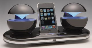 Illustration for article titled These iPhone Speakers Look Like They Come From Another Planet